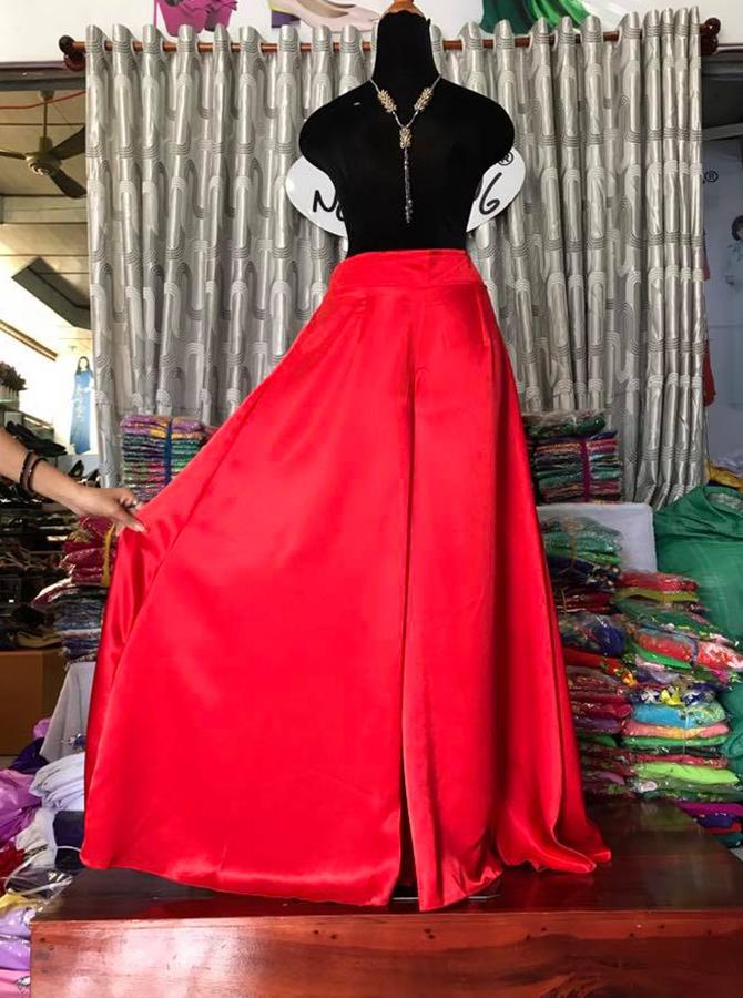 QUAN02 - Quần áo dài dáng xòe tròn
