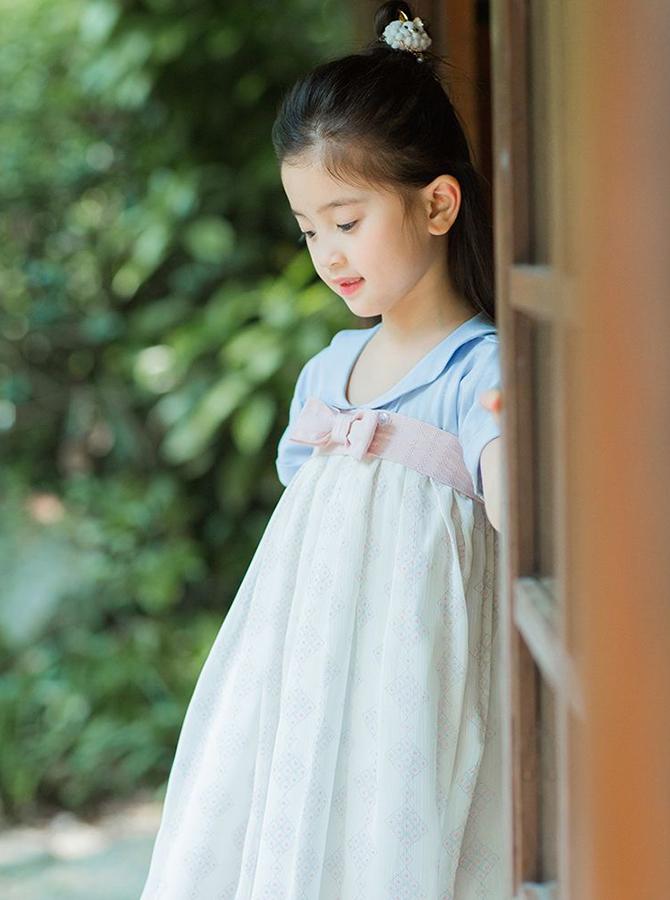 FC024 - Hán phục cách tân đầm cổ sen