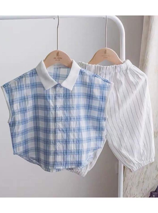 U0075 - Bộ sơmi cộc tay, quần lửng
