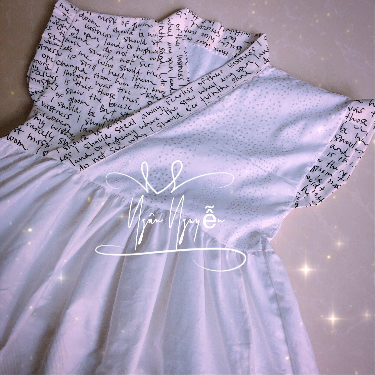 KR056 - Yukata dress vạt xéo / Đào Đức