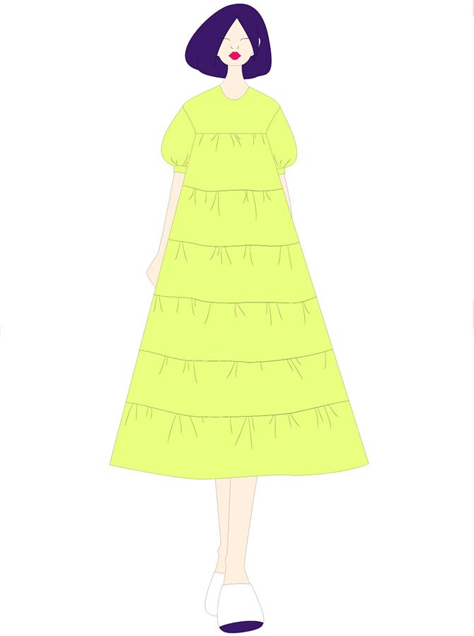 30081 - Đầm Babydoll maxi (26-04-2021)