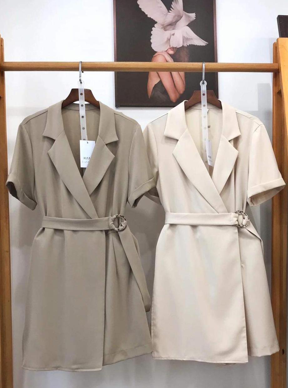 30017 - Blazer kết hợp Short Jumpsuit (11-07-2020)