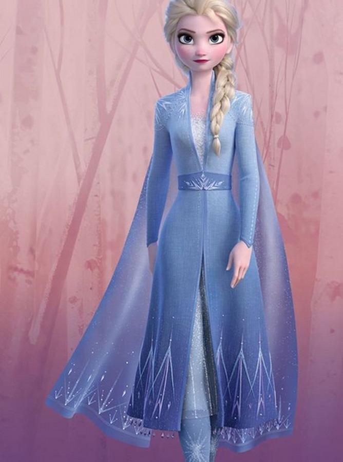 FC019 - Đầm Elsa Frozen 2 (25-05-2020)