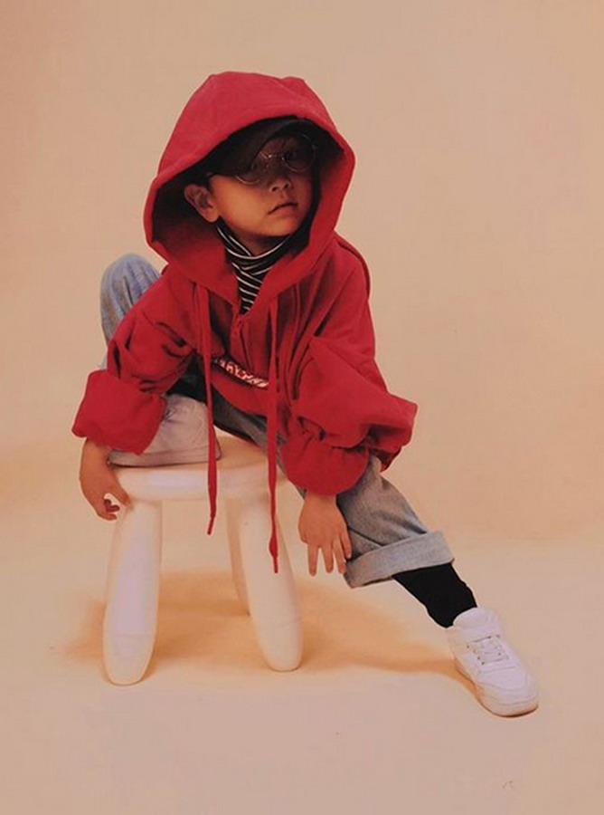 WW047- Áo Hoodie Trẻ em Unisex