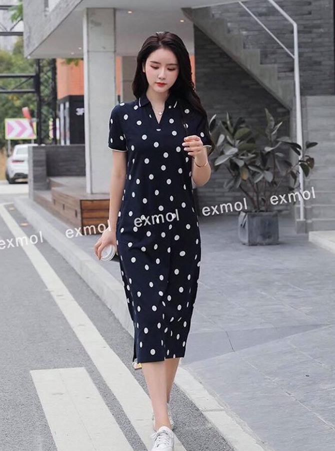 PC019 - Đầm cổ Polo (19-09-2020)