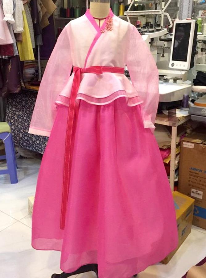 TC012 - Hanbok Cách tân style Công chúa - Trẻ em - Tích hợp 3 kiểu (17-01-2019)