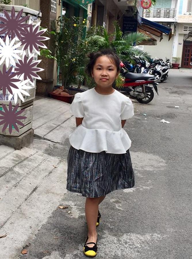 KR046 - Đầm liền dáng Peplum - Trẻ em (20-11-2018)
