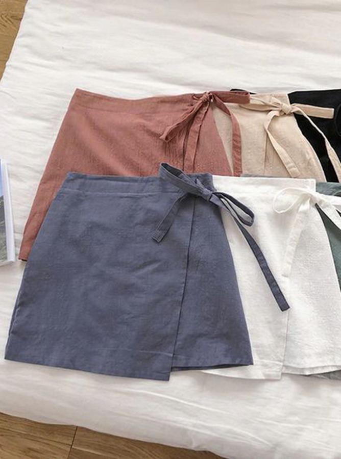 LL020 - Quần lưng thun mix váy đắp (12-05-2020)