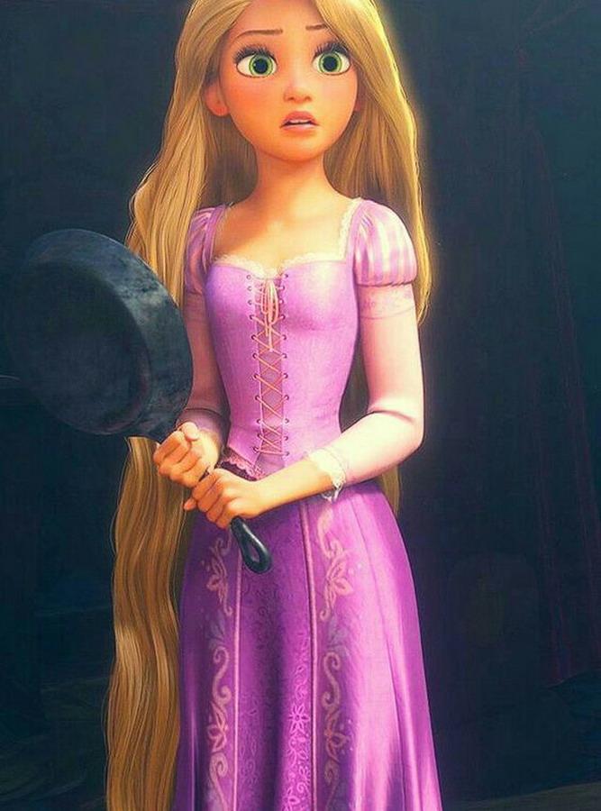 FC018 - Rapunzel Tóc mây - 85% nguyên bản (23-10-2019)