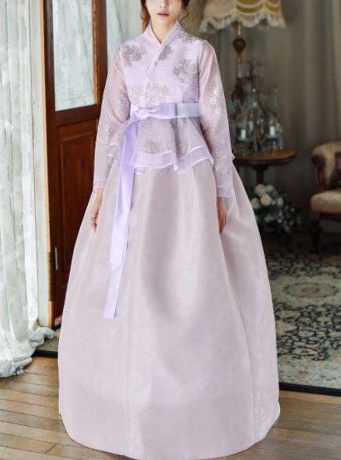 TC012 - Hanbok Cách tân style Công chúa - Trẻ em - Tích hợp 3 kiểu