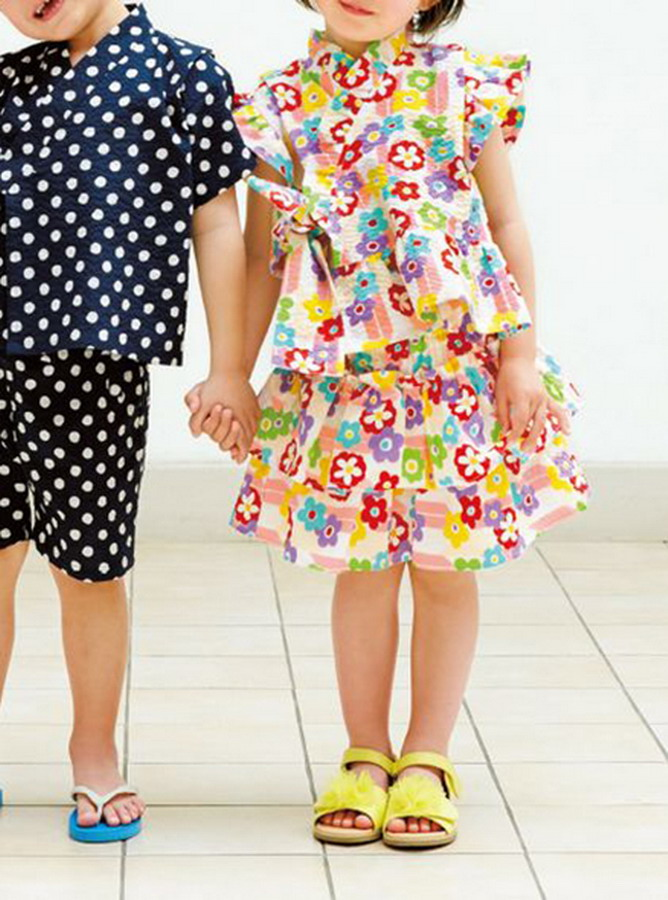TC015 - Yukata quần váy